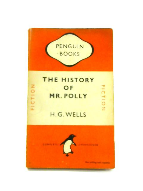 The History of Mr. Polly - Framed Vintage Penguin Book by H.G. Wells