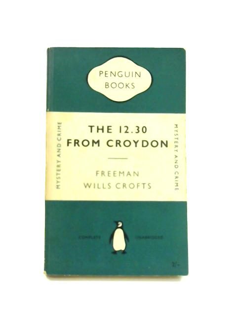 The 12.30 From Croydon - Framed Vintage Penguin Book by Freeman Wills Crofts
