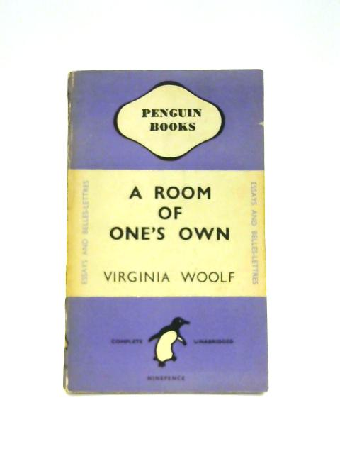 A Room of One's Own - Framed Vintage Penguin Book by Virginia Woolf