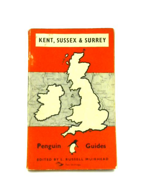 Kent, Sussex and Surrey - Framed Vintage Penguin Guides Book by L. Russell Muirhead