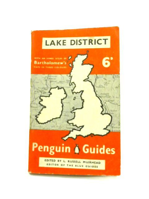 Lake District - Framed Vintage Penguin Guides Book by L. Russell Muirhead