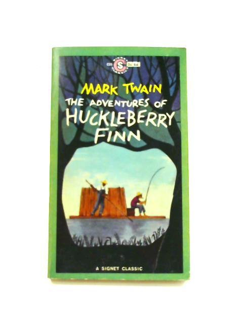 The Adventures of Huckleberry Finn - Framed Vintage Paperback Book by Mark Twain