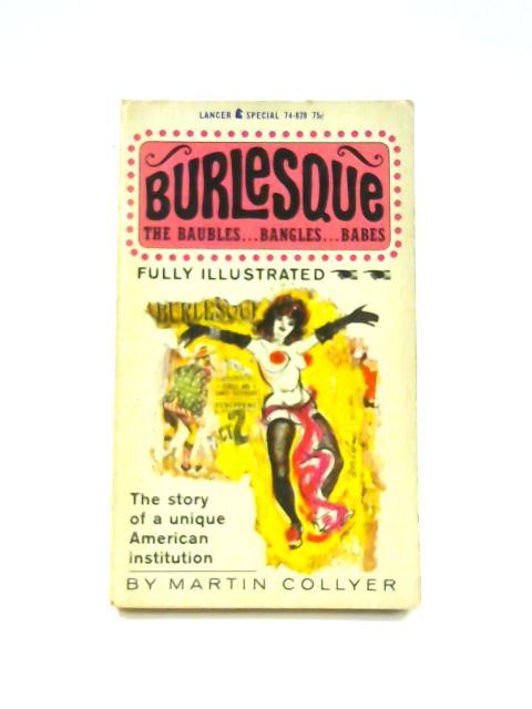 Burlesque - Framed Vintage Paperback Book by Martin Collyer