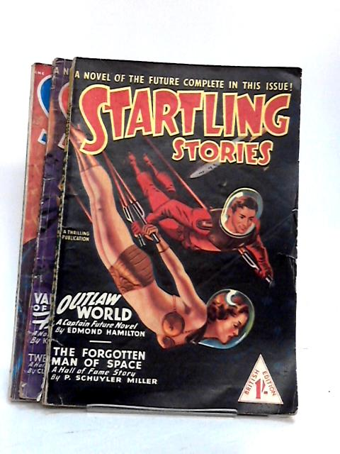 Startling Stories Nos 1, 2, 4 (3 x Magazine) by Various