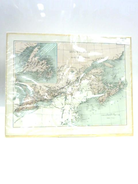 Map of the British Colonies in North America by Unknown