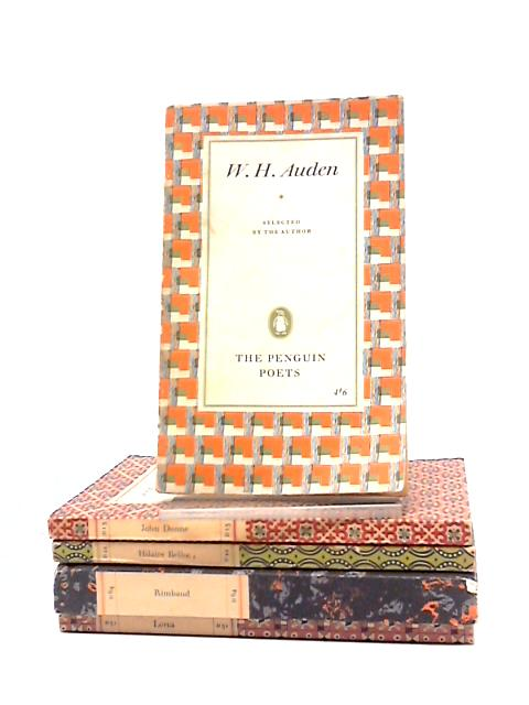 Set of Five Penguin Poets Books by Various