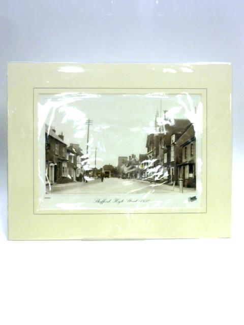 Print of Shefford, High Street c1950 By Unknown
