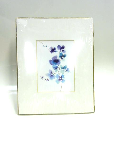 Print of Flowers: 'Blue Spray' by Tina Ramsbottom