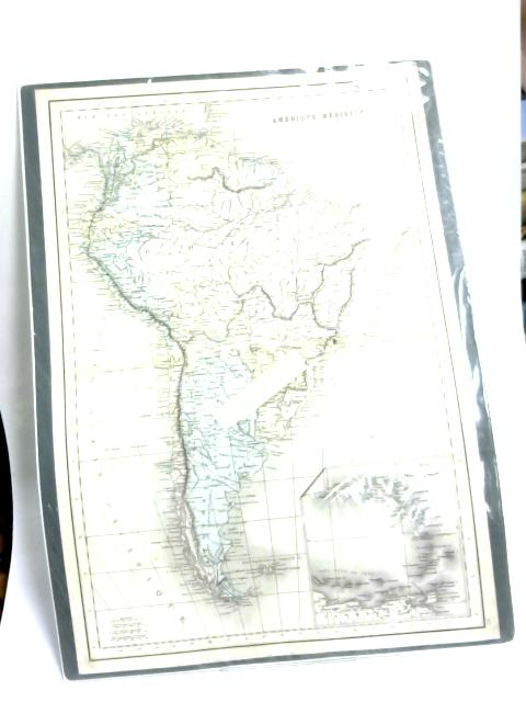 Antique Map of South America. Amerique Meridionale by Anon