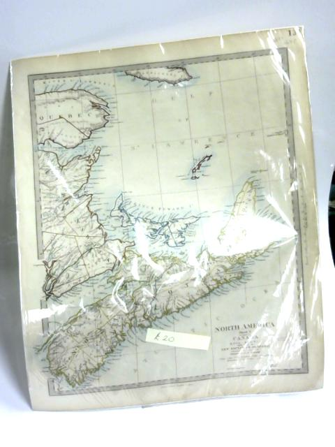 Antique Map of North America Sheet 1. by Anon