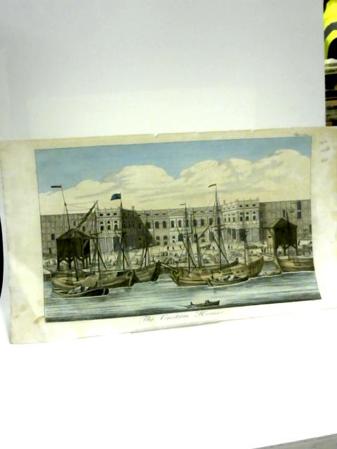 Colour Print of The Custom House. Page 624 by Anon