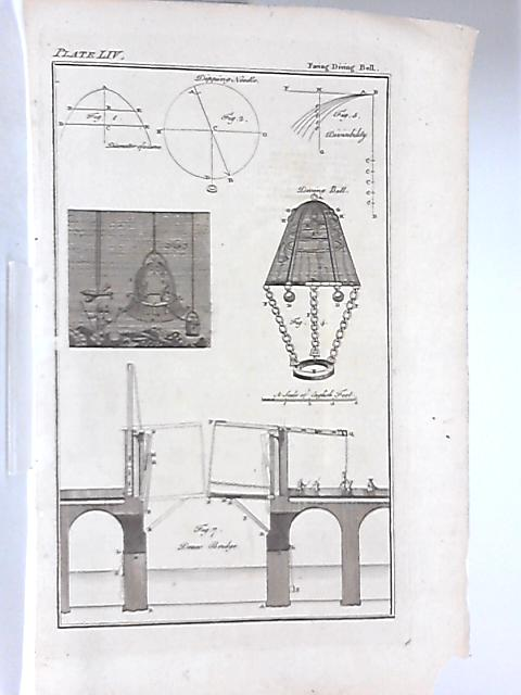 Vintage Engraving Illustrating the Diving Bell By Anon