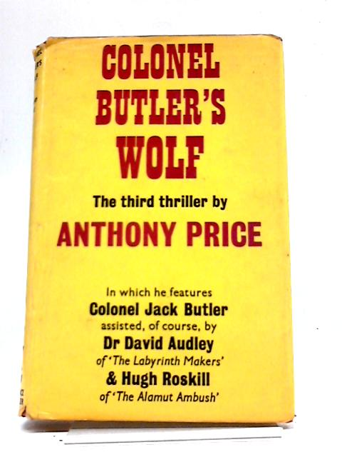 Colonel Butlers Wolf by Price