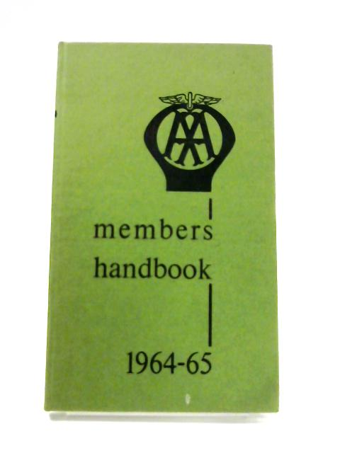 AA Members Handbook: Ireland 1964-65 by Anon