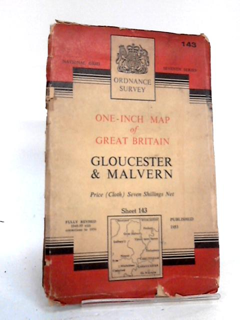 Ordnance survey one inch sheet 143 Gloucester by Unknown