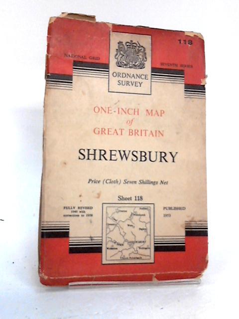 Ordnance survey one inch sheet 118 Shrewsbury by Unknown