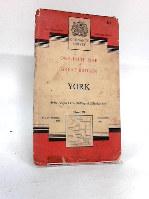 Ordnance Survey - York - Sheet 97, One-Inch Map by Unknown