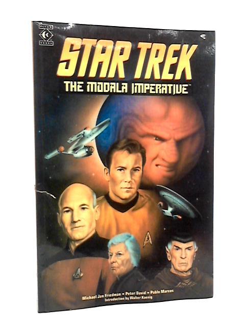 Star Trek The Modala Imperative Issue 1 Late July 1991 DC Comic by Michael Jan Friedman