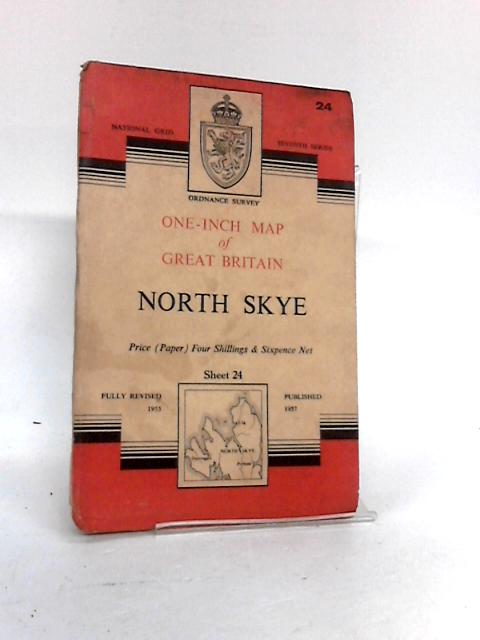 North Skye Sheet 24 - Ordnance Survey One Inch Map of Great Britain by Ordnance Survey Office