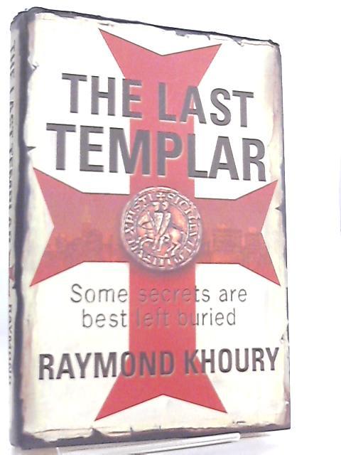 The Last Templar Book