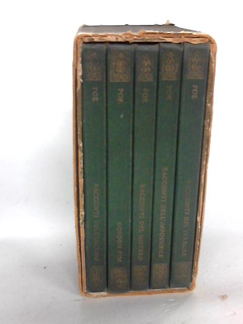 Italian - Set of Five Edgar Allen Poe Titles by Edgar Allen poe