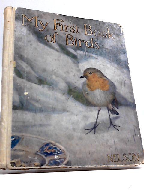 My First Book of Birds by M e Burnett