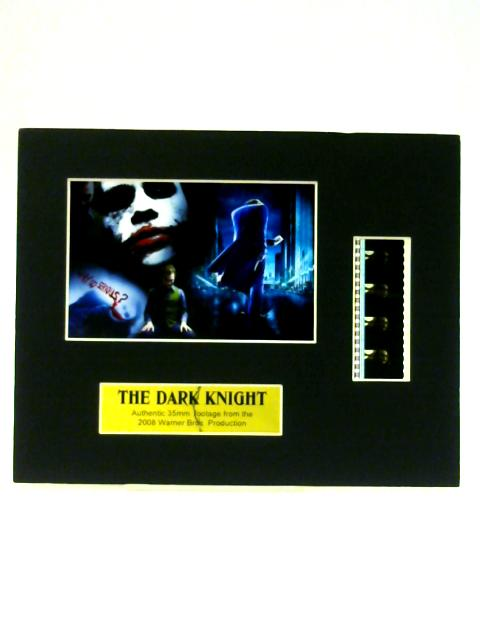 The Dark Knight Mounted 35mm Film Cels By Anon