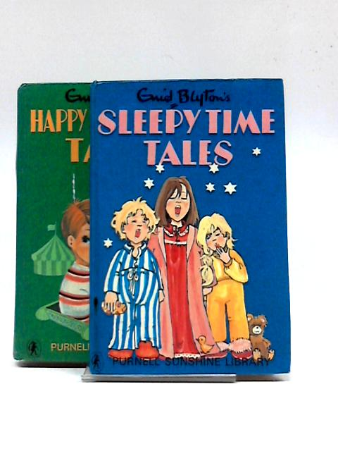 Happy Adventure Tales and Sleepy Time Tales (2 x Book) by Enid Blyton