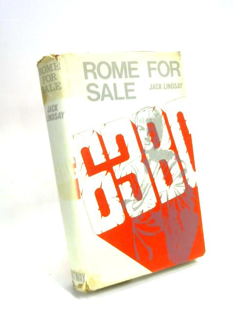 Rome for Sale by Jack Lindsay