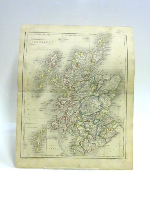 Map of Scotland by S. Hall