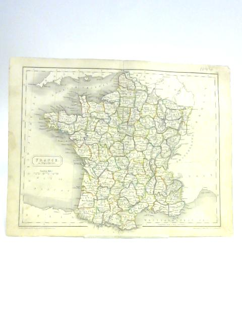 Map of France by S. Hall