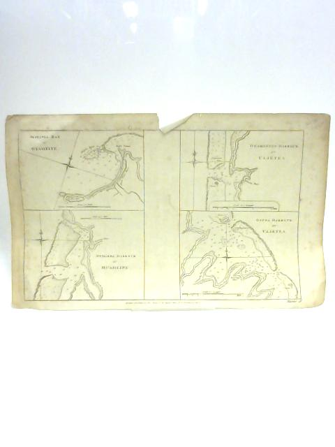 Maps of Four Harbours and Bays by Unknown