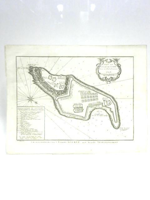 Map of Gorée by J. V. Schley