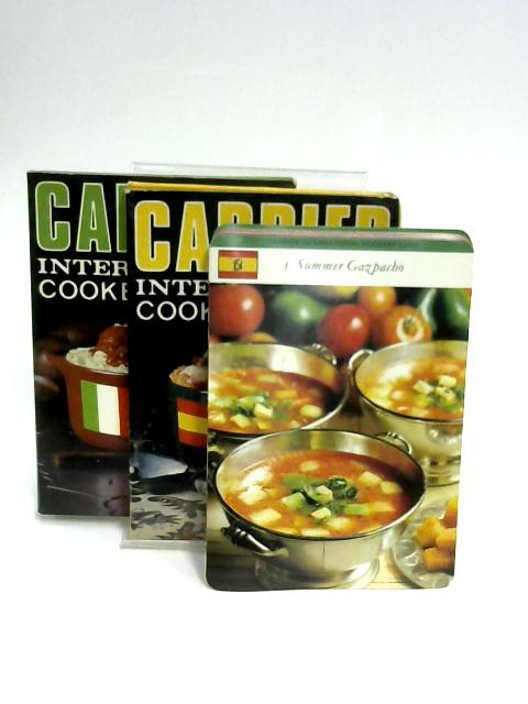 Carrier International Cookery Cards: Spain and Italy by Carrier