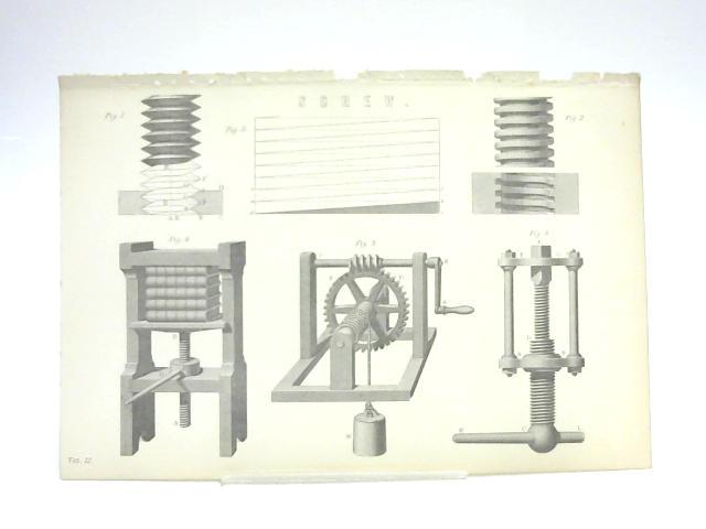 Print of Screws By Unknown