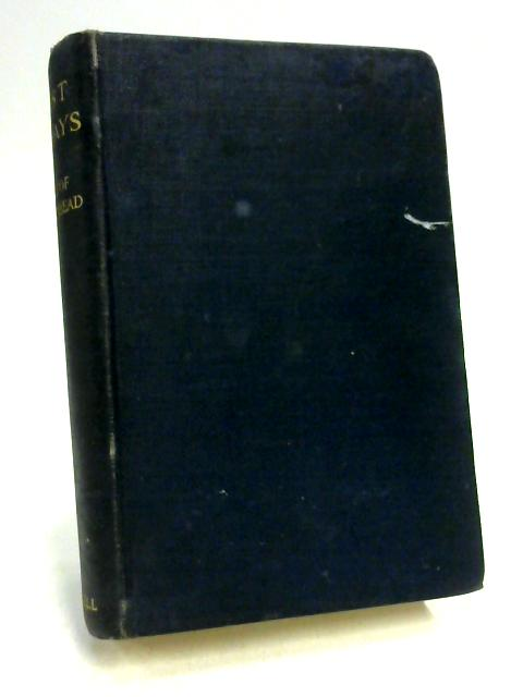 Last Essays by The Earl Of Birkenhead