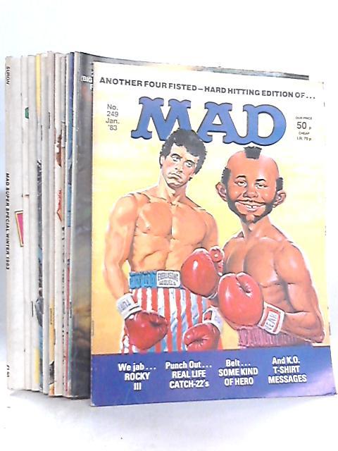 Mad 1983 (Jan - Dec) plus Winter Special by Albert Feldstein