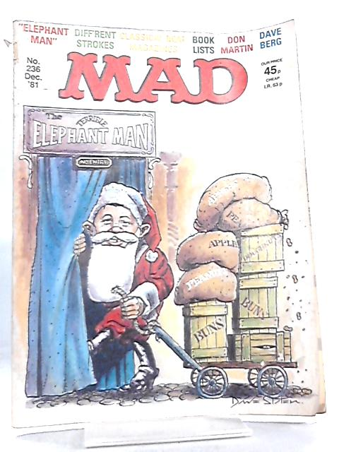 Mad Magazine, No. 236 (December 1981) By Albert Feldstein
