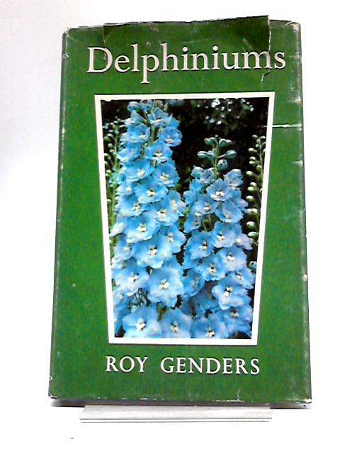 Delphiniums by Roy Genders