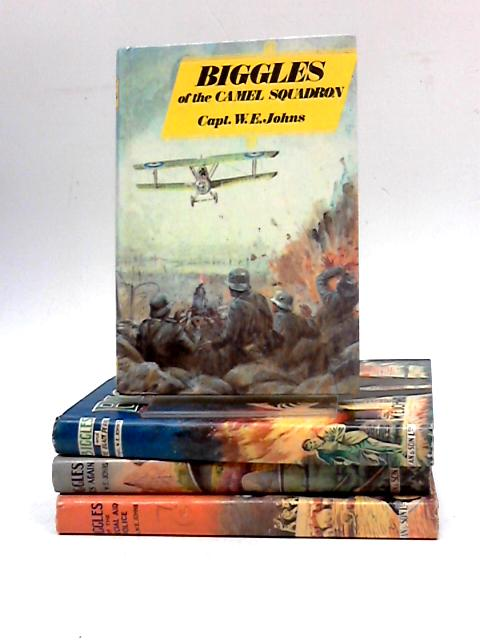 Collection of Four Biggles Titles by WE Johns