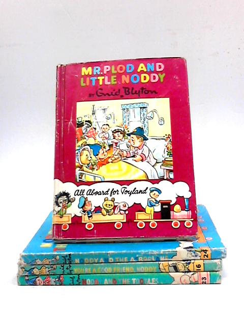Collection of Four Noddy Titles by Enid Blyton
