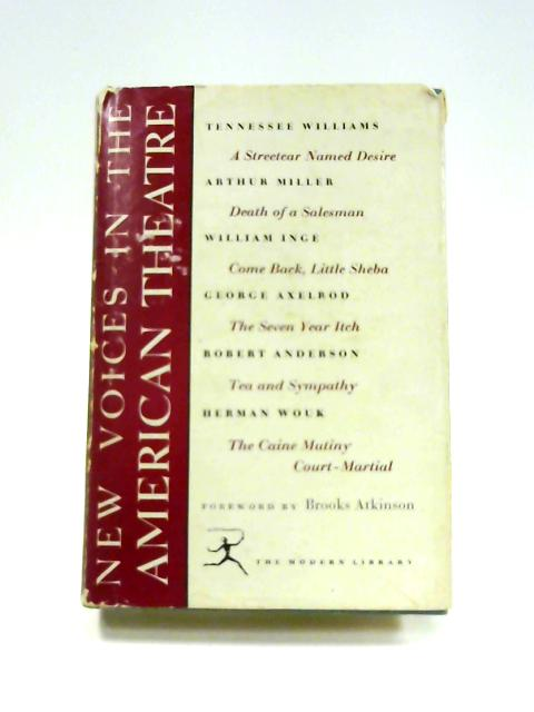 New Voices in the American Theatre by Various