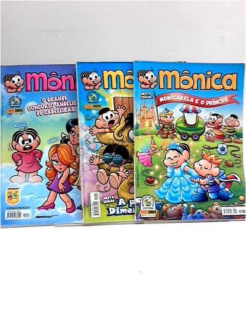 Monica x 3 comic nos. 33, 57, 70 by Mauricio et al