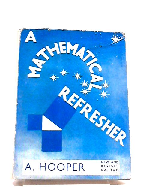 A Mathematical Refresher by Hooper