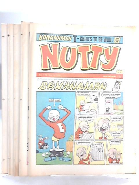 Nutty Comic Nos 116-120 May 1982 (5 x issues) by Anon