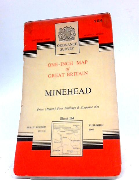 One-Inch Map of Great Britain: Minehead: Sheet 164. by Ordnance Survey