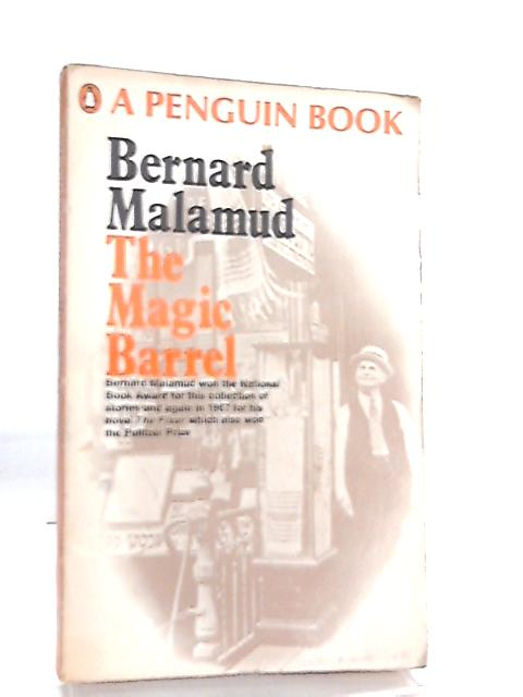 a literary analysis of jews in the magic barrel by bernard malamud