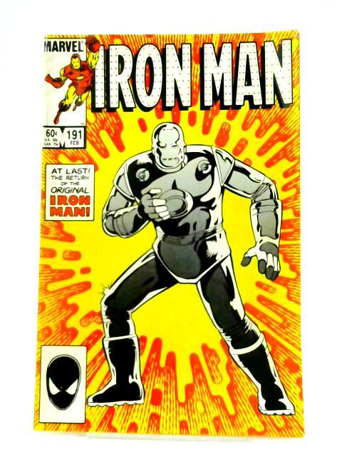Iron Man: No. 191 By Denny O'Neil