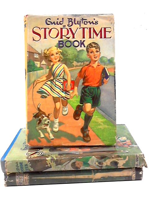Collection of Three Enid Blyton Titles Younger Readers Sunshine, Storytime, Tales of Brave Adventure by Enid Blyton