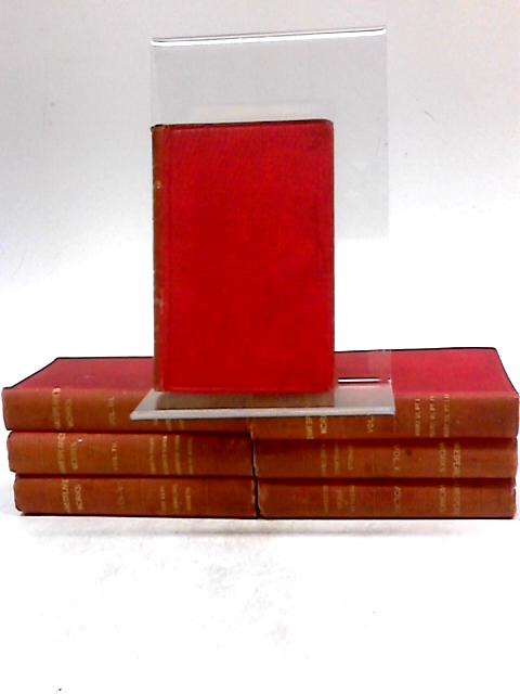 Collection of Seven William Shakespeare (Miniature Books)Volumes 1, 3, 4, 5, 8, 10, 12 (of 12) by William Shakespeare